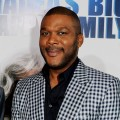 "Tyler Perry arrives at a screening of ""Tyler Perry's Madea's Big Happy Family"" at the Cinerama Dome Theater in Los Angeles, Calif., on April 19, 2011"