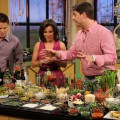 Mark Addison shows Billy Bush and Kit Hoover some tasty Easter treat recipes on Access Hollywood Live on April 21, 2011