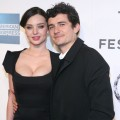 "Orlando Bloom and Miranda Kerr attend the premiere of ""The Good Doctor"" at the Tribeca Film Festival in New York City on April 22, 2011"