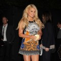 Jessica Simpson steps out at the Us Weekly Hot Hollywood party held at Eden in Hollywood, Calif. on April 26, 2011