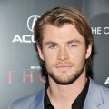 "Chris Hemsworth attends the Cinema Society & Acura screening Of  ""Thor"" at AMC Loews 19th Street East 6 theater in New York City on April 28, 2011"