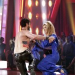 "Kirstie Alley and Maksim Chmerkovskiy dance to ""American Woman"" on ""Dancing with the Stars,"" April 18, 2011"