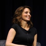 Tina Fey seen on stage for the In Conversation To Benefit KPCC And KCET at the Nokia Theatre L.A. Live in Los Angeles on April 19, 2011
