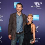 "Boxer Wladimir Klitschko and actress Hayden Panettiere hit the red carpet at the premiere of ""Klitschko"" during the 2011 Tribeca Film Festival at SVA Theater in New York City on April 24, 2011"