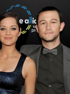 "Marion Cotillard and Joseph Gordon-Levitt arrive to premiere of Warner Bros. ""Inception"" at Grauman's Chinese Theatre in Los Angeles on July 13, 2010"