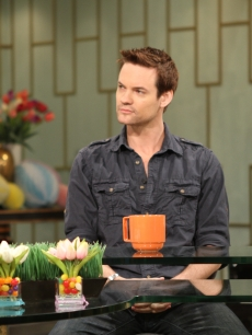 """Nikita's"" Shane West visits Access Hollywood Live on April 21, 2011"