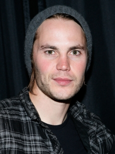 Taylor Kitsch visits the Apple Store Soho on April 22, 2011 in New York City