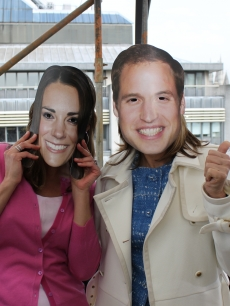 Nope, that&#8217;s not Kate and William, but Natalie Morales and Meredith Vieira before their Access Hollywood Live appearance, London, April 26, 2011