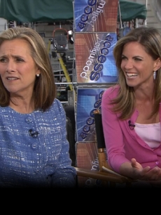 Access Hollywood Live: Natalie Morales &amp; Meredith Vieira&#8217;s Wild Night Out In London (April 26, 2011)