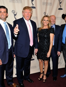 Star Jones, Donald Trump Jr., Donald Trump, Marlee Matlin, Jim Cramer, John Rich and Meatloaf attend An Evening with &#8220;The Celebrity Apprentice&#8221; at Florence Gould Hall in New York City, on April 26, 2011   