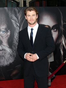 Chris Hemsworth attends the Premiere of Paramount Pictures' and Marvel's 'Thor' at the El Capitan Theater on May 2, 2011 in Los Angeles, California.