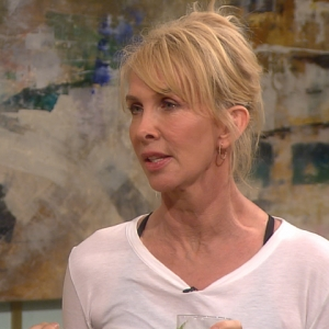 Access Hollywood Live: Trudie Styler Shares Her Health Secrets & Yoga Tips
