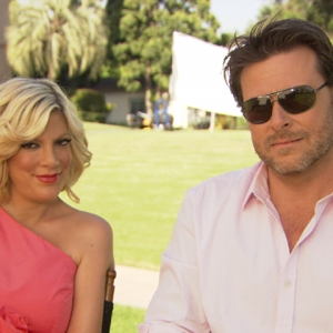 Tori Spelling & Dean McDermott Talk 'Tori & Dean: sTORIbook Weddings'