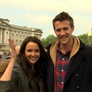 Access Hollywood Live: Lifetime's 'William & Kate' Visit Buckingham Palace