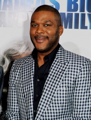 Tyler Perry arrives at a screening of &#8220;Tyler Perry&#8217;s Madea&#8217;s Big Happy Family&#8221; at the Cinerama Dome Theater in Los Angeles, Calif., on April 19, 2011