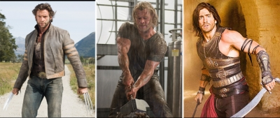 Hugh Jackman/ Chris Hemsworth/ Jake Gyllenhaal