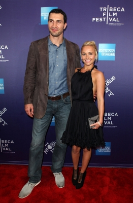 Boxer Wladimir Klitschko and actress Hayden Panettiere hit the red carpet at the premiere of &#8220;Klitschko&#8221; during the 2011 Tribeca Film Festival at SVA Theater in New York City on April 24, 2011