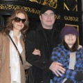 John Travolta, wife Kelly Preston and their daughter Ella Bleu Travolta are seen in New York City on February 3, 2010