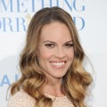 "Hilary Swank hits the red carpet the premiere of ""Something Borrowed"" at Grauman's Chinese Theatre in Hollywood, Calif., on May 3, 2011"