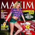 Cameron Diaz covers the June 2011 issue of Maxim