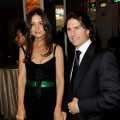 Katie Holmes and Tom Cruise arrive at the Simon Wiesenthal Center's Annual National Tribute Dinner at the Beverly Wilshire Hotel in Beverly Hills, Calif. on May 5, 2011
