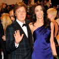 Paul McCartney and Nancy Shevell attends the 'Alexander McQueen: Savage Beauty' Costume Institute Gala at The Metropolitan Museum of Art on May 2, 2011 in New York City