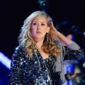 Ellie Goulding performs at the Brit Awards 2010 Shortlist Announcement at the Indigo 02 Arena, London, on January 18, 2010