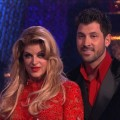 Kirstie Alley and Maksim Chmerkovskiy receive their scores on &#8220;Dancing with the Stars,&#8221; May 9, 2011