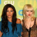 Jessica Szohr and Taylor Momsen in 2009
