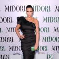 Kim Kardashian arrives at The Midori Trunk Show at Trousdale in West Hollywood, Calif. on May 10, 2011