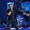 "James Durbin performs Journey's ""Don't Stop Believin'"" on ""American Idol,"" May 11, 2011"