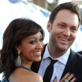 Tamera Mowry and reporter Adam Housley step out at the 42nd NAACP Image Awards held at The Shrine Auditorium in Los Angeles, Calif. on March 4, 2011