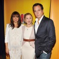 Maya Rudolph, Christina Applegate, and Will Arnett attend the 2011 NBC Upfront at The Hilton Hotel, NYC, on May 16, 2011