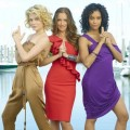 Rachael Taylor, Minka Kelly and Annie Ilonzeh in ABC&#8217;s &#8220;Charlie&#8217;s Angels&#8221;