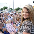 "The fans flock to meet ""American Idol"" finalist Lauren Alaina during her hometown visit to Chattanooga, Tenn."