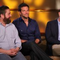 "Zach Galifianakis, Bradley Cooper and Ed Helms are all smiles while chatting with Access Hollywood at the junket for ""The Hangover, Part II"" in Los Angeles on May 18, 2011"