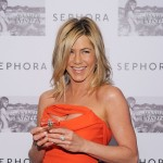 Jennifer Aniston makes an appearance to promote her perfume, Jennifer Aniston, at Sephora, Lexington Avenue, NYC, May 5, 2011
