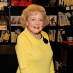 "Betty White signs copies of her book ""If You Ask Me (And Of Course You Won't)"" at Book Soup in West Hollywood, Calif. on May 15, 2011"