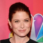 Debra Messing attend the 2011 NBC Upfront at The Hilton Hotel, NYC, on May 16, 2011