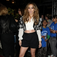 Jennifer Lopez at The Grove in LA on March 3, 2011