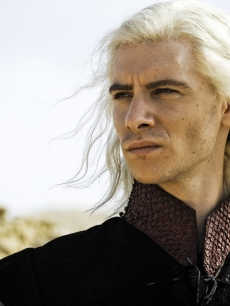 "Harry Lloyd in as Viserys Targaryen in ""Game of Thrones,"" HBO, 2011"