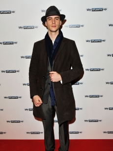 Harry Lloyd attends the launch party for Sky Atlantic HD, London, February 4, 2011