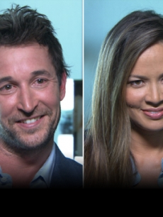 Noah Wyle, Moon Bloodgood & Drew Roy Talk New Alien Invasion Show, 'Falling Skies'