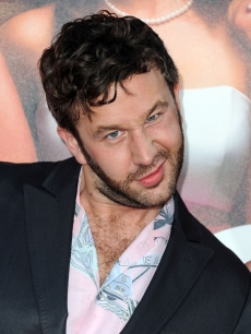 "Chris O'Dowd makes a funny face at the ""Bridesmaids"" premiere at the Mann Village Theatre in Westwood, Calif. on April 28, 2011"