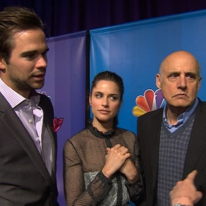 Amanda Peet, David Walton & Jeffrey Tambor Talk New NBC Show, 'Bent'