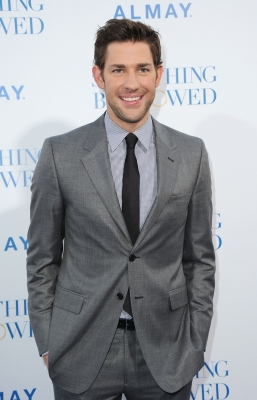 "John Krasinski spotted looking dapper at the premiere of ""Something Borrowed"" at Grauman's Chinese Theatre in Hollywood, Calif., on May 3, 2011"
