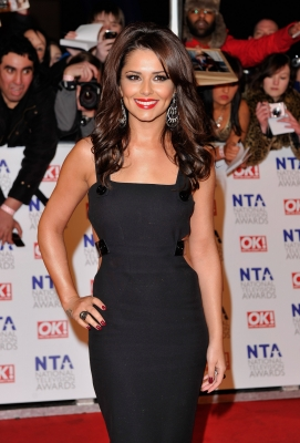 Cheryl Cole hits the red carpet at the National Television Awards at the O2 Arena in London, England on January 26, 2011