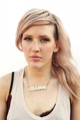 Ellie Goulding poses for a portrait backstage at the Fader Fort by Fiat during the 2011 SXSW Music Festival, Austin, Texas, on March 18, 2011