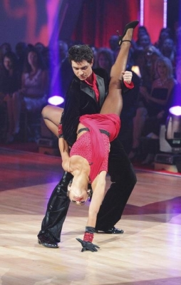 "Ralph and Karina kick off the semifinals on ""Dancing"" with an Argentine tango, May 16, 2011"