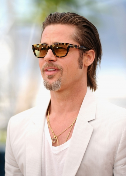 "Brad Pitt is seen at ""The Tree Of Life"" photocall during the 64th Annual Cannes Film Festival at Palais des Festivals in Cannes, France on May 16, 2011"